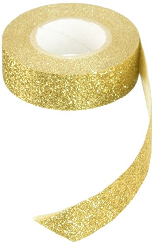 - Best Creation Glitter Tape, 15mm by 5m, Gold - GTS002