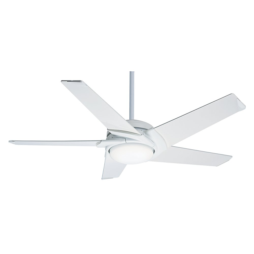 Casablanca 59165 contemporary stealth dcled ceiling fan with light casablanca 59165 contemporary stealth dcled ceiling fan with light kit 54 inch white amazon aloadofball Images