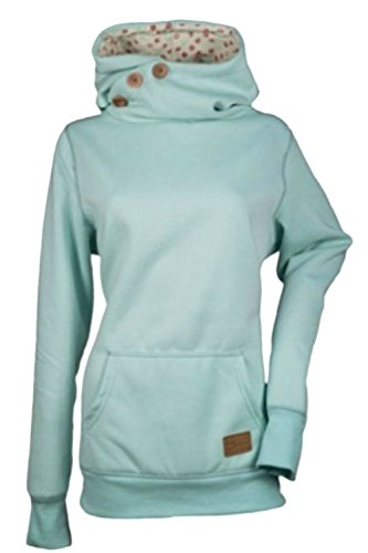 Zilcremo shirt Sweat Sweatshirts Uni Femme Bleu HHFqwRZzr