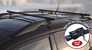 Toyota Rav 4 Locking Roof Bars Only Fits Cars With Rails