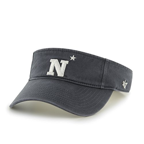 NCAA Navy Midshipmen Clean Up Adjustable Visor, One Size, - College Visor
