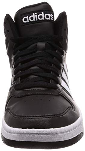 negbas 0 Chaussures Noir Fitness Homme Mid Adidas ftwbla De 2 Hoops 000 4EqOOpz