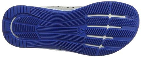 Reebok Crossfit Nano 7, Zapatillas Deportivas para Interior para Mujer Multicolor (White/awesome Blue/primal Red/black/skull Grey)