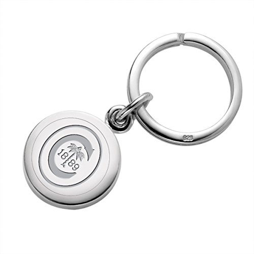 Clemson Sterling Silver Insignia Key Ring by M. LaHart