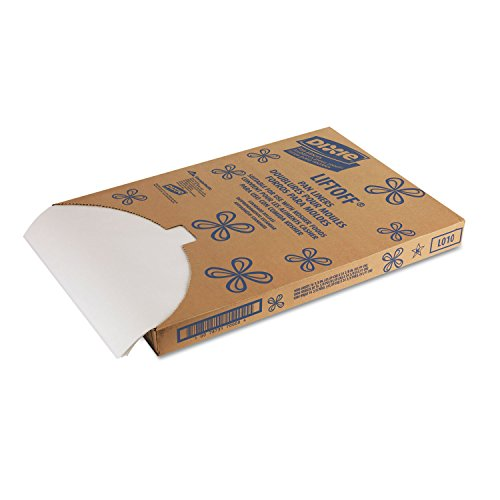 Dixie DXELO10 Greaseproof Liftoff Pan Liners 16 3/8 x 24 3/8 White by Office Realm (Image #1)