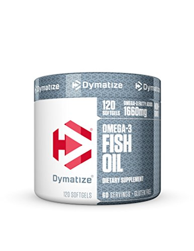 Dymatize Omega-3 Fish Oil Softgels, 120 Count Review