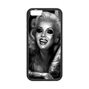 """Zombie Marilyn Monroe Brand New Cover Case for Iphoneiphone 6 4.7"""",diy case cover ygtgiphone 6 4.7922iphone 6 4.73"""