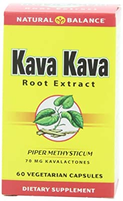 Kava Kava Root Extract 234 mg By Natural Balance - 60 Vegetable Caps