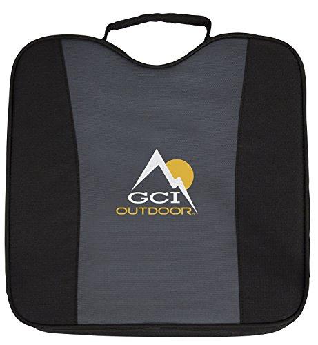 Stadium Cushion Seat - GCI Outdoor Comfort 2.5-Inch Portable Bleacher Seat Cushion