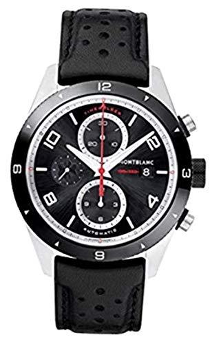 Montblanc TimeWalker Black Dial Mens Chronograph Watch 116098