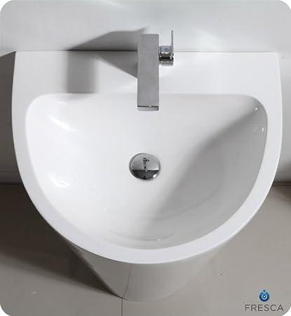 Fresca Parma 24 White Pedestal Sink Kitchen Dining