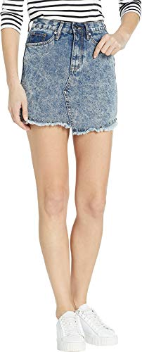 Studded Acid Wash - Juicy Couture Women's Studded Denim Skirt Beverly Acid Wash 29