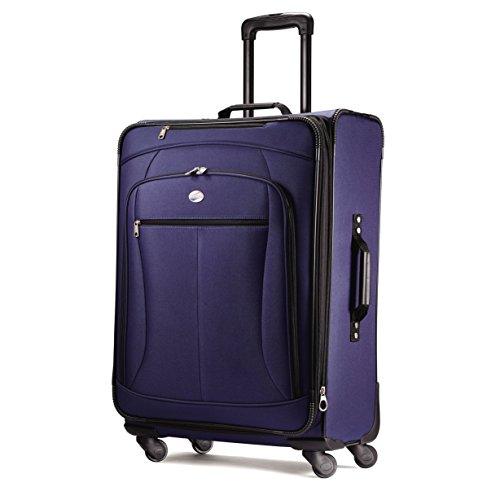 American Tourister Luggage Pop Extra 29″ Spinner Suitcase (29″, Navy)