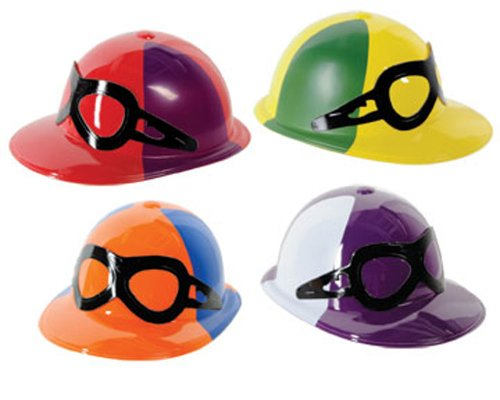Plastic Jockey Helmet 4 Assorted  -