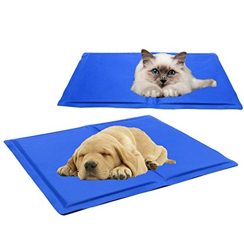 Showlovein Pet Cooling Mat Pad for Dogs Cats, Indoor & Outdoor Pet Mat, Ice Cooler Summer Sleeping Bed by Showlovein (Image #8)