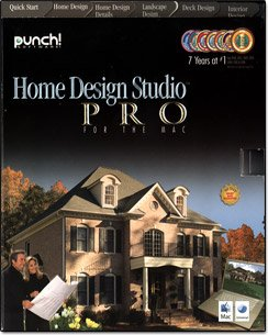 Punch! Home Design Studio Pro (Mac) [Old Version]