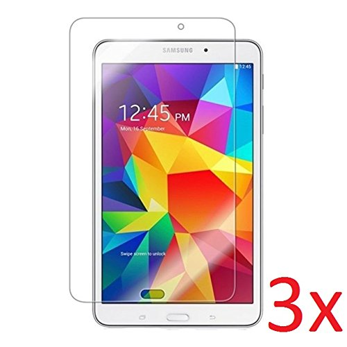 eTECH Collection 3 Pack of Anti-Glare & Anti-Fingerprint (Matte) Screen Protector for Samsung Galaxy Tab 4 8.0