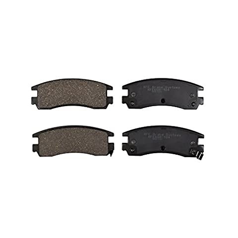 KFE Ultra Quiet Advanced KFE698-104 Premium Ceramic REAR Brake Pad Set - Auto Brake Tune