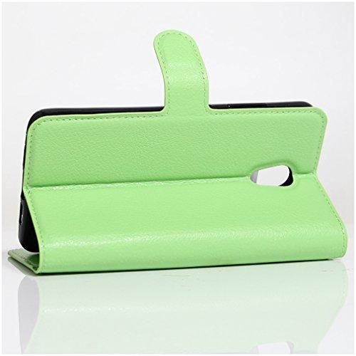 Funda MEIZU Pro6 Plus,Manyip Caja del teléfono del cuero,Protector de Pantalla de Slim Case Estilo Billetera con Ranuras para Tarjetas, Soporte Plegable, Cierre Magnético D
