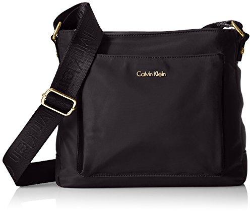 Calvin Klein Women's Belfast Front Pocket Nylon Messenger