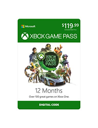 Xbox Game Pass: 12 Month Membership [Digital Code]