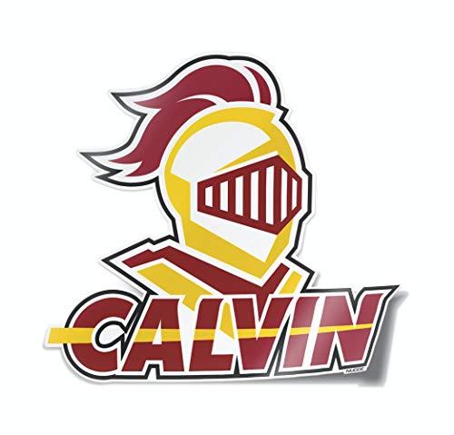 Nudge Printing Collegiate Car Decal Sticker (Calvin College Knights)