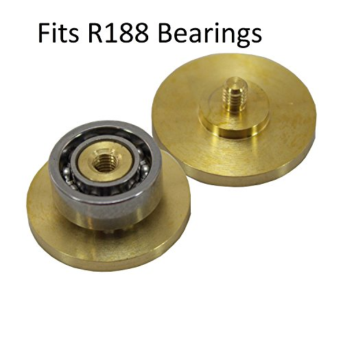 Brass Fidget Spinner Center Bearing Caps EDC Toy Upgrade Metal Buttons R188