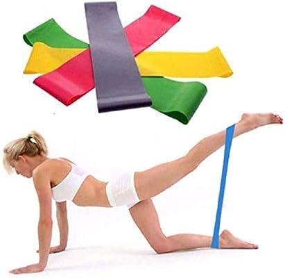 Amazon.com: Ulanda - Banda elástica de resistencia para yoga ...