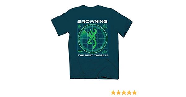 Browning Kids T-Shirt U-PICK Blue Green Tan Animal Dog Cotton Boy Youth S M L