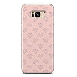Samsung S8 Case Heart Love Pattern Pattern Great For Girls Durable Metal Inforced Light Weight Samsung S8 Cover Wrap Around 96