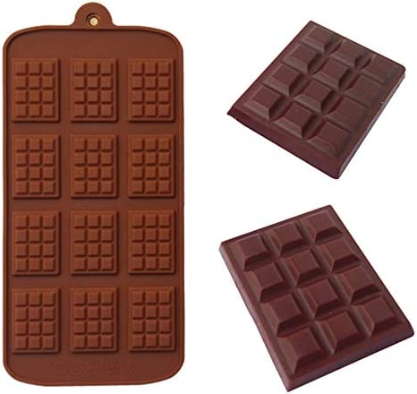 YUANZHOU 12 moldes para hacer chips de chocolate, herramienta ...