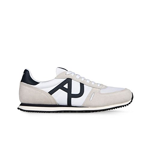 Armani Jeans Herren 9350277p420 Sneakers Bianco