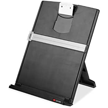 Superbe 3M Desktop Document Holder With Adjustable Clip, Holds Letter, Legal And A4  Documents,