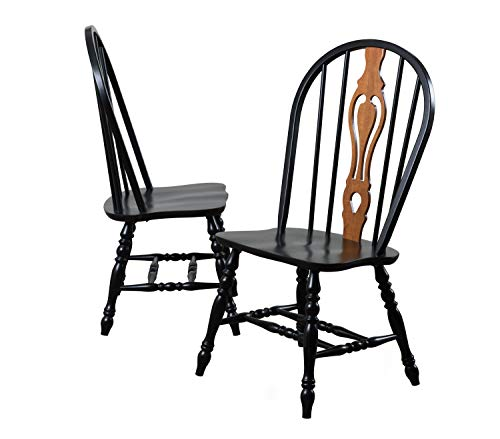 Sunset Trading Keyhole Dining Chair, Set of 2, 41
