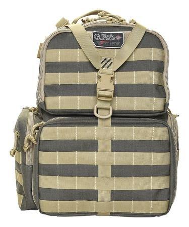 Oversize Internal Frame Pack (G.P.S. Tactical Range Backpack, Rifle Khaki/Green)