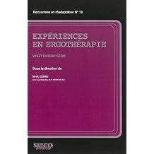 Experiences En Ergotherapie - Vingt Sixieme Serie 2013