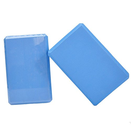 Sport Force 100119 Yoga Blocks, Blue, 9''X6''X3'' by Sport Force