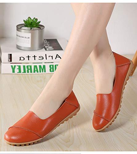 Taille Blanc Orange Chaussures 39 EU coloré ZHRUI qwW4tUEpSt