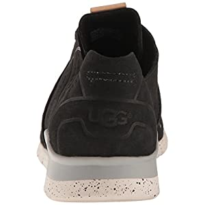 UGG Women's Tye Fashion Sneaker, Black, 7 B US
