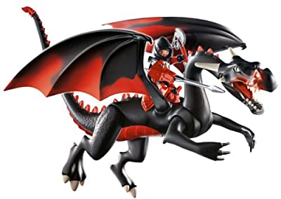 Playmobil Giant Dragon with LED-Fire by PLAYMOBIL
