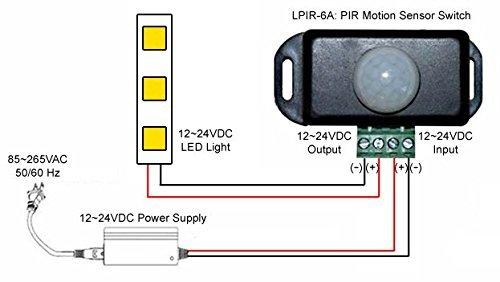 41ajATwzLrL motion sensor light switch wiring diagram small pir great