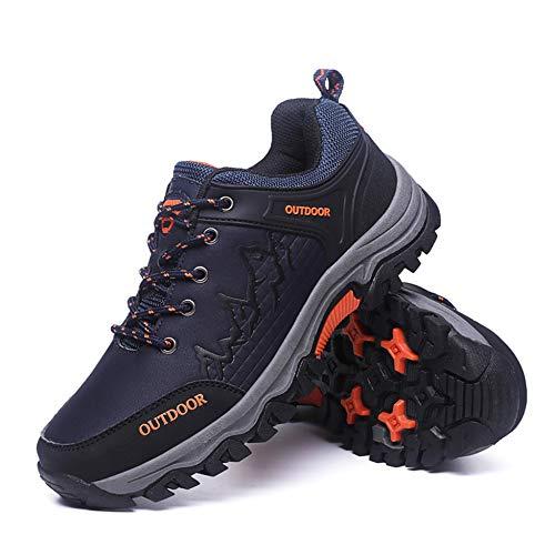 E Di Da Grandi Equitazione Outdoor Autunno Orange Dimensioni Stivali Trekking Scarpe Uomo Inverno Antiscivolo twzdSqcg