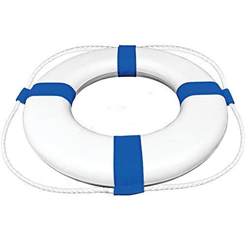 Poolmaster Life Ring Buoy, 24-Inch Diameter, Blue ()