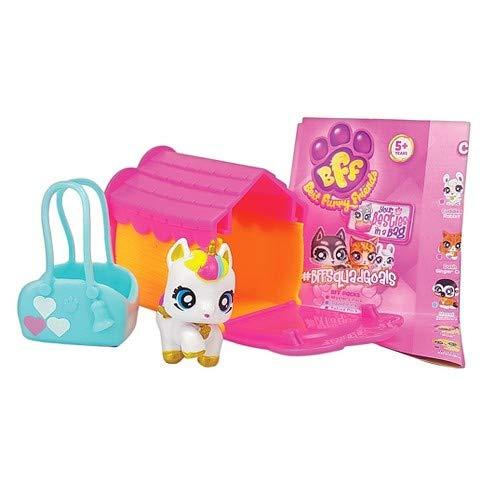 Best Furry Friends BFF Secret Bundle Pack Mystery Box Collectible Mini Animal Figurine, 5pk ()