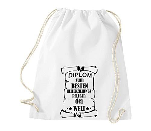 Shirtstown Mujer Algodón Tela De Bolso Weiss Para Xnrq7Xx