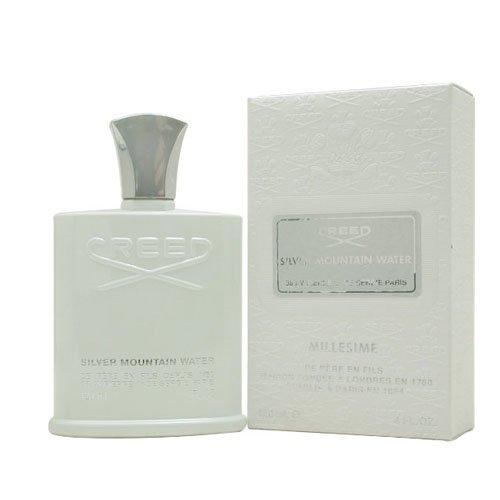 Creed Silver Mountain Eau De Parfum Spray for Men by Creed, 4 Ounce