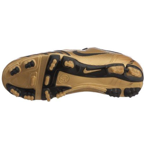 Nike - Zapatillas de fútbol para niños Bronze/Black