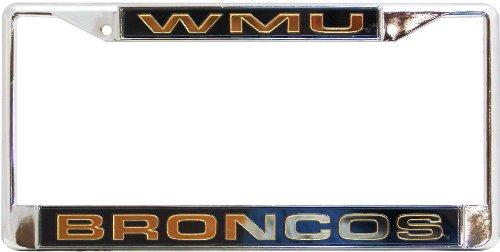 Rico Western Michigan Broncos Chrome Frame, ( 094746439965 )
