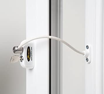Jackloc Window Restrictor White & Amazon.com : Jackloc Window Restrictor White : Indoor Safety Gates ...