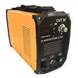SUNCOO Cut-50 Plasma Cutter Electric DC Inverter Machine with Digital Display Dual Voltage 110/220V, 1/2